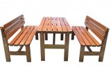 Gartenmbel Set Sitzgruppe Bregenz Braun 150x70cm Bei pertaining to sizing 2400 X 1527