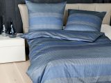 Janine Mako Satin Bettwsche Messina 4779 02 Blau Aqua Silber throughout measurements 1500 X 1500