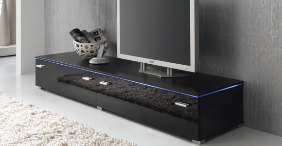 Lowboard Tv Schrank Tv Element 180 Cm Schwarz Fronten Hochglanz with regard to dimensions 1200 X 800